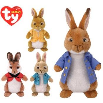 Ty Beanie Boos плюшевый кролик мягкие игрушки Кролик Ежик с тегом 15 см