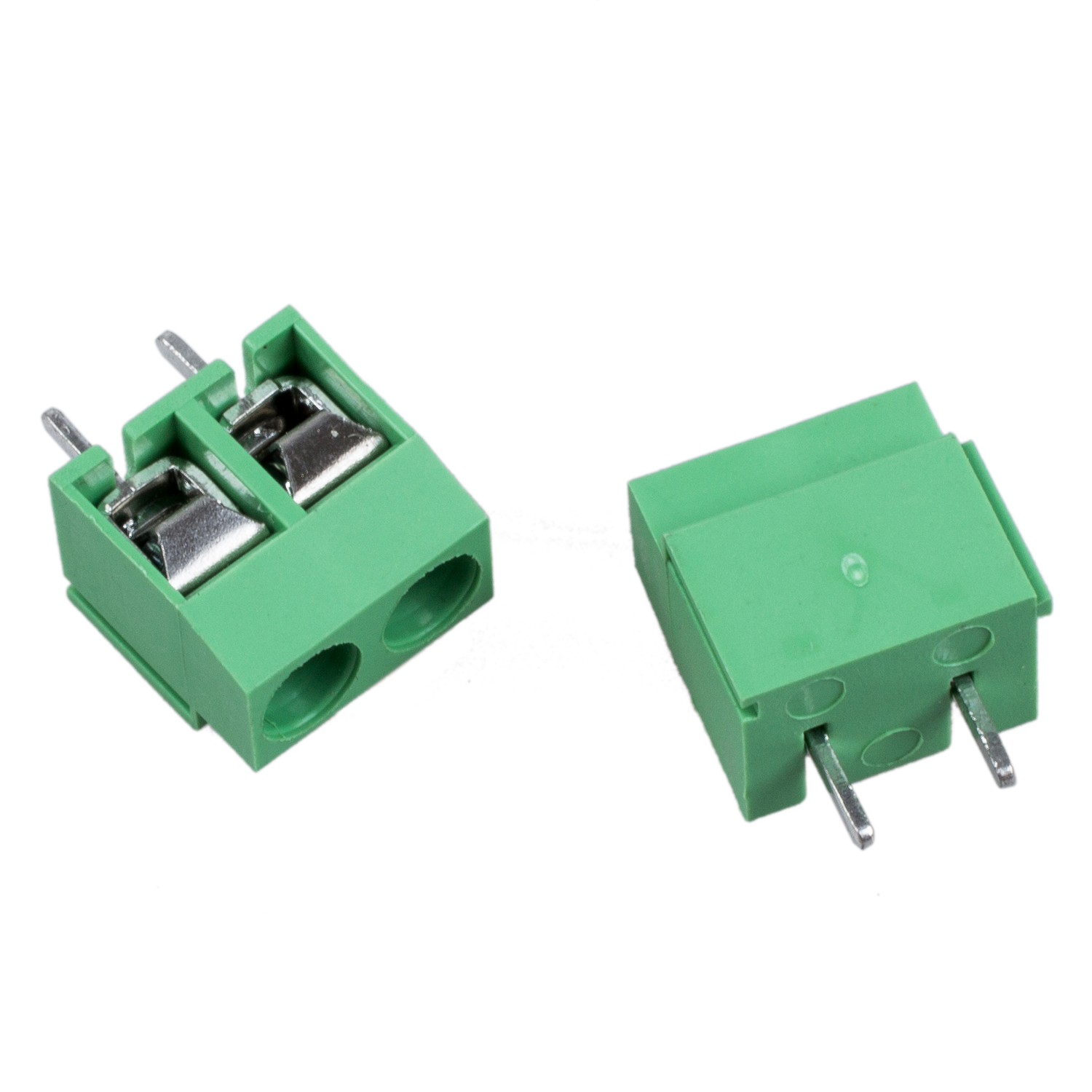 High Quality 20pcs 2 Pole 5mm Pitch PCB Mount Screw TermInal Block Connector 8A 250V