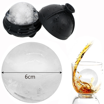 6 cm Ball Ice Molds DIY Home Bar Party Cocktail Use Sphere Round Cube Makers Kitchen Cream Moulds - discount item  22% OFF Kitchen,Dining & Bar