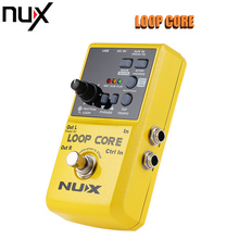 NUX Loop Core Guitar Effect Pedal Looper 6 Hours Recording Time 99 User Memories Drum Patterns with TAP Tempo