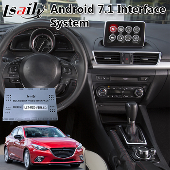 Lsailt Android multimedia video interface for Mazda 2 / 3 / 6 2014-2020 Model Built in GPS Navigation 32GB ROM