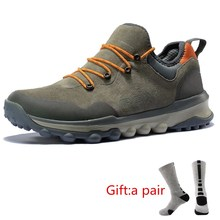 RAX Men Hiking Shoes Women Outdoor Sports Sneakers Trainers Trekking Woman Sneakers Sapatos Masculinos Lightweight With gift