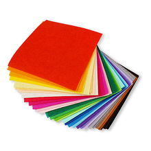40pcs/Lot  1mm Thickness Mix Colors Safety Non Woven Felt Fabric DIY Handmade Decoration For Home Decor Gift Party Craft Favors