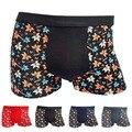 Nueva Llegada Sexy Mens Underwear Boxers Calzoncillos Marca Transpirable De Fibra De Bambú de Los Hombres Calzoncillos Hombre Un Tamaño