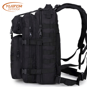 YUETOR OUTDOOR 35L 3P Military Tactical Backpack Molle Army Assualt Pack Waterproof Tactical Bag for Hiking Camping Hunting 1