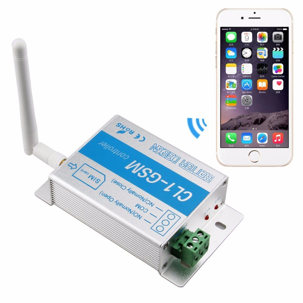 ФОТО Wireless GSM Receiver & Switch for gate openers, garage doors and alarm systems