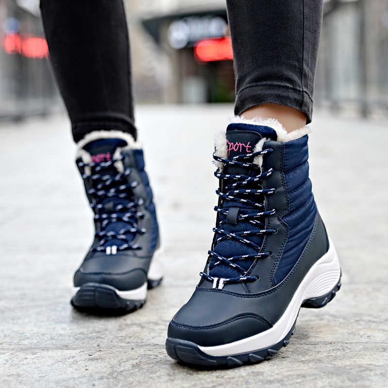 Dinamik moda kışlık botlar kadın moda kar botları yeni stil kadın ayakkabısı yüksek kalite Artı kadife sıcak bayan botları