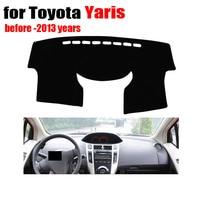 Car Dashboard Avoid Light Pad For Toyota Yaris 2008 2011 Auto Console Avoid Light Pad Conse