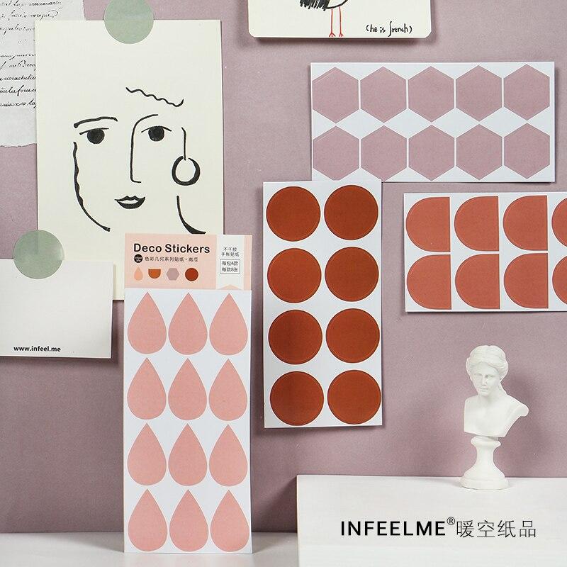 Color 32Pcs\DIY Cute Creative Fun Personality Sticker Magazine Album Diary Calendar Scrapbook Student Stationery Office Supplies
