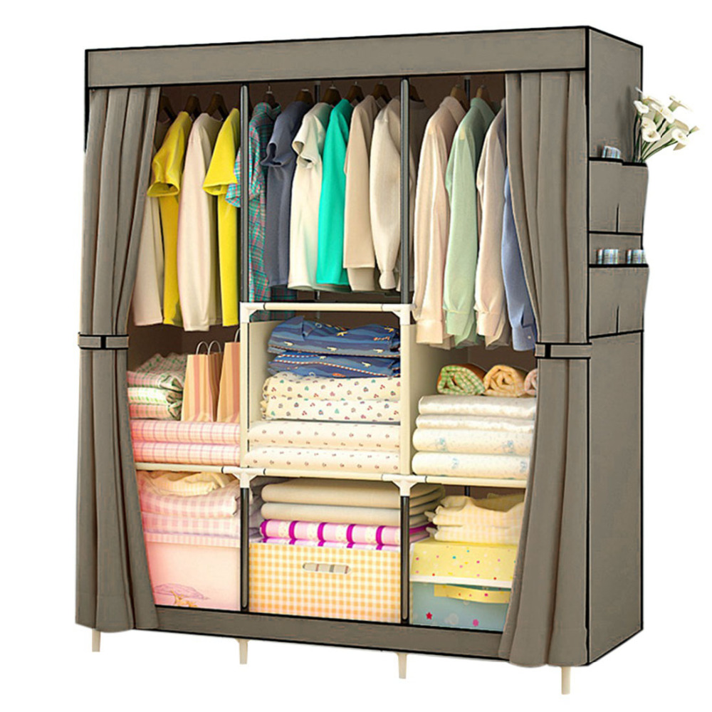 clothe new proof cloth storage closet item cabinet sundries cabinets wardrobe simple clothes dust portable fashion