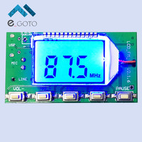DSP PLL 87 108MHz Stereo FM Transmitter Module Digital Digital Wireless Microphone Board Multi Function Frequency