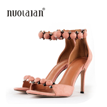 2018 New Arrival Women Shoes Open Toe Women Sandals Ankle St