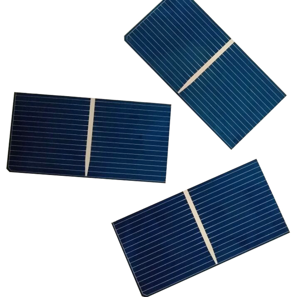 XINGPUGUANG 100 PCS 0.5V PCS Polycrystalline Silicon solar cell 52*26MM L6-03 module DIY solar panel kits RV cells