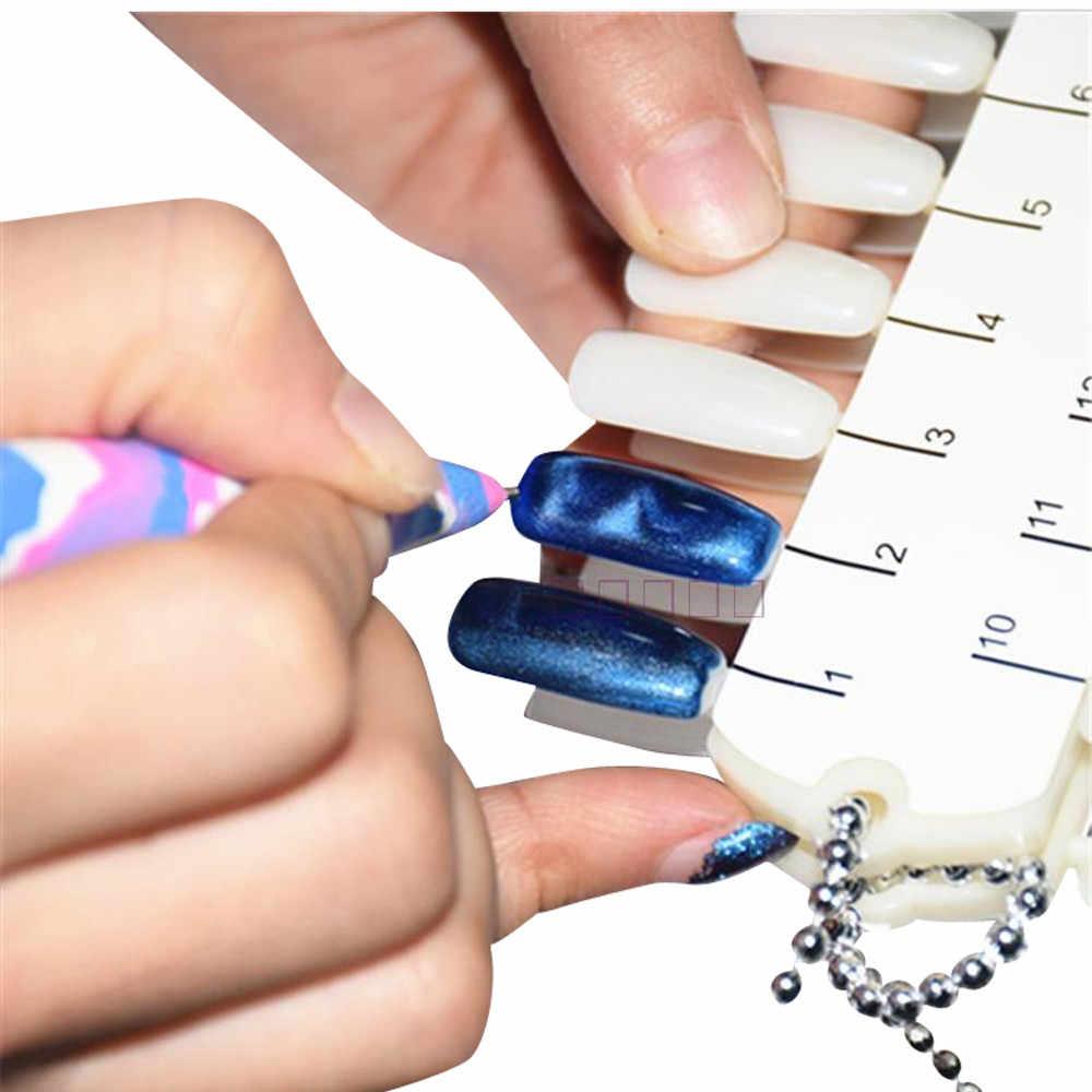 נשים של אופנה מגנט עט מגנטי מקל עבור חתול עין ג 'ל פולני UV LED מניקור מכירה לוהטת 3M28