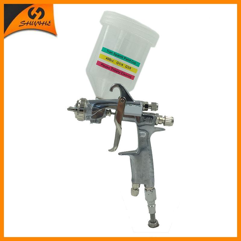 W-101G pneumatic spray air paint sprayer gun professional paint sprayer hvlp gravity feed gun for car painting airbrush gun r71g new professional mini spray pain gun gravity feed type paint gun airbrush mirror painting gun for car painting tool