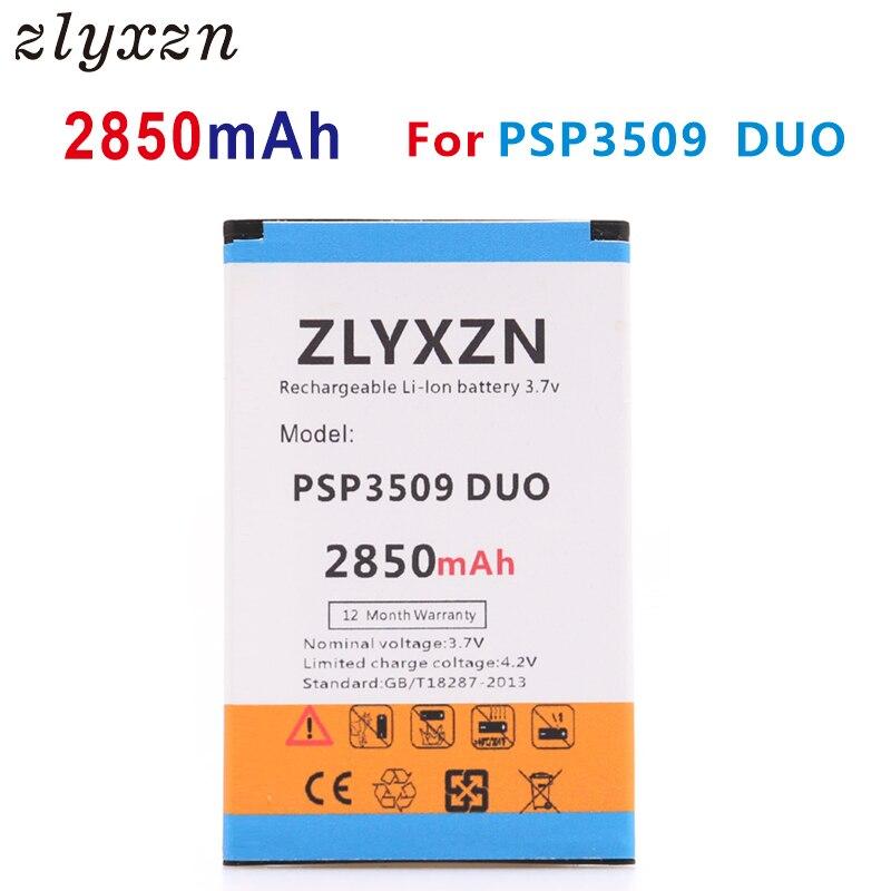 Nuevo 2850 mAh PSP3509 DUO batería de repuesto para Prestigio Wize D3 E3 K3 PSP3509 DUO PSP 3509 batería del teléfono
