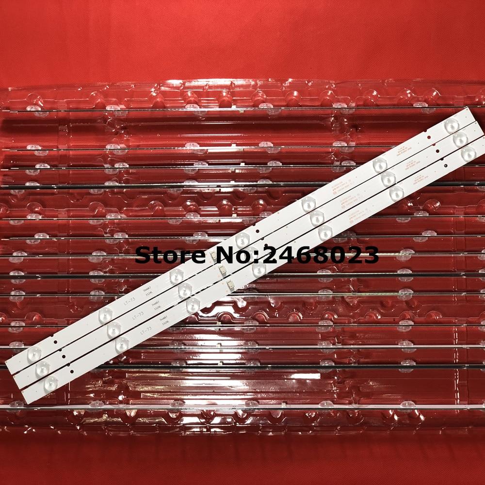 32inch LED backlight strip 7LED 5800-W32001-3P00  For LC320DXJ-SFA2 RDL320HY(BDO-902) SRT 32HX4003  32E3000  32E3500