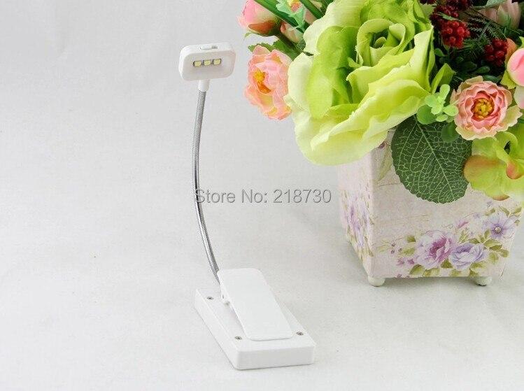 Free shipping China lithium <font><b>battery</b></font> LED desk lamp <font><b>clip</b></font> on light free shipping