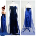 Anastasia (1997 film) Romanov Evening Dress Blue Cosplay Costume