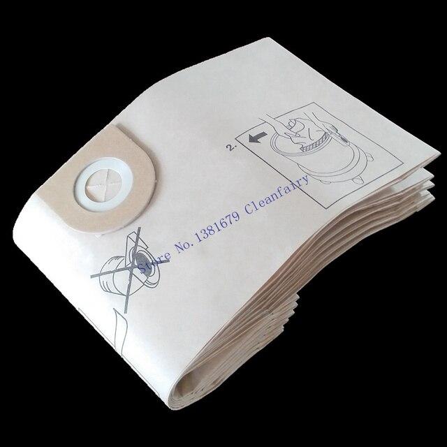 Cleanfairy 15 adet kağıt vakum torbaları ile uyumlu VAX 2000 4000 5000 6000 7000 8000 9000 serisi