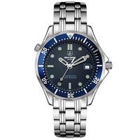Sekaro montres hommes de montres automatique mécanique montre en acier ceinture mâle bracelet montre hommes de luxe marque calendrier étanche ciso