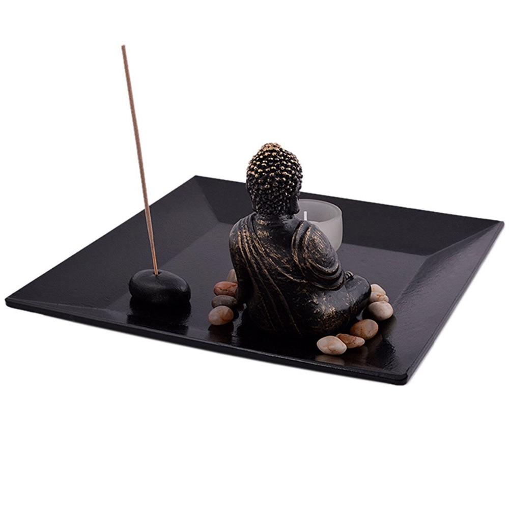 Feng Shui ZEN Garden Buddha držalo za aromatiziranje svetilke - Dekor za dom - Fotografija 1