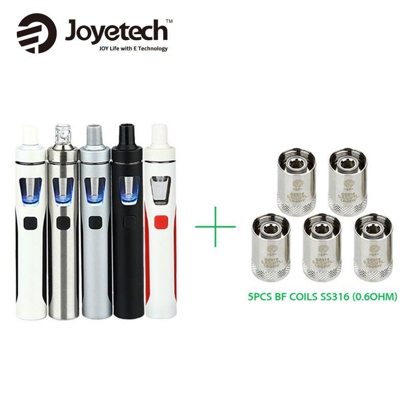 Original Joyetech eGo AIO Kit 1500mAh Quick Vape Kit 2ml 0.6ohm/1.0ohm All-in-One E-Cigarette Vaporizer vs ijust s Starter Kit