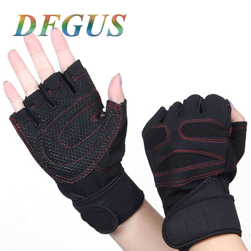 DFGUS Hell Usa Special Forces Tactical Gloves Slip Outside Gym Training Fighting Half- Finger Ridding Gloves