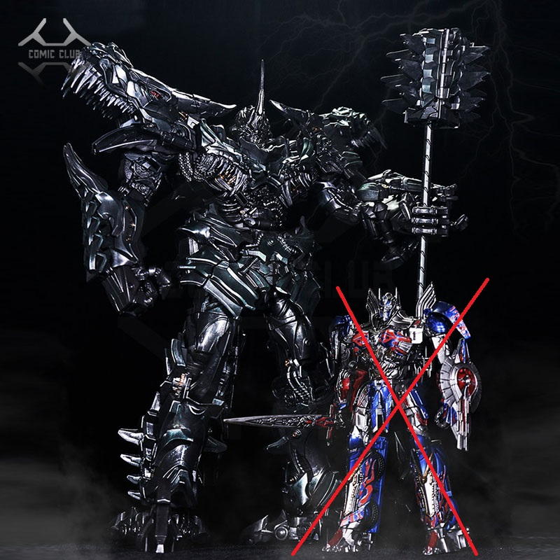 COMIC CLUB Robot Toys Transformation BMB LS05 Ancient Leader Grimlock Oversized SS07 Metal Action Figure Collection Kids Gift