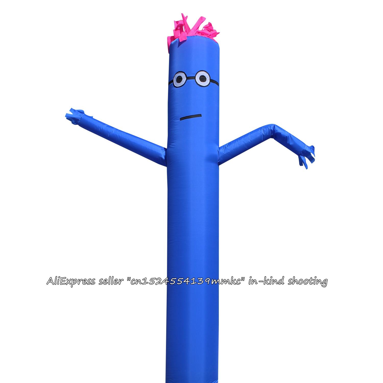 10FT 3M Air Dancer Sky Dancer Inflatable Tube Puppet Wind Flying For 45CM Blowe (Blue)