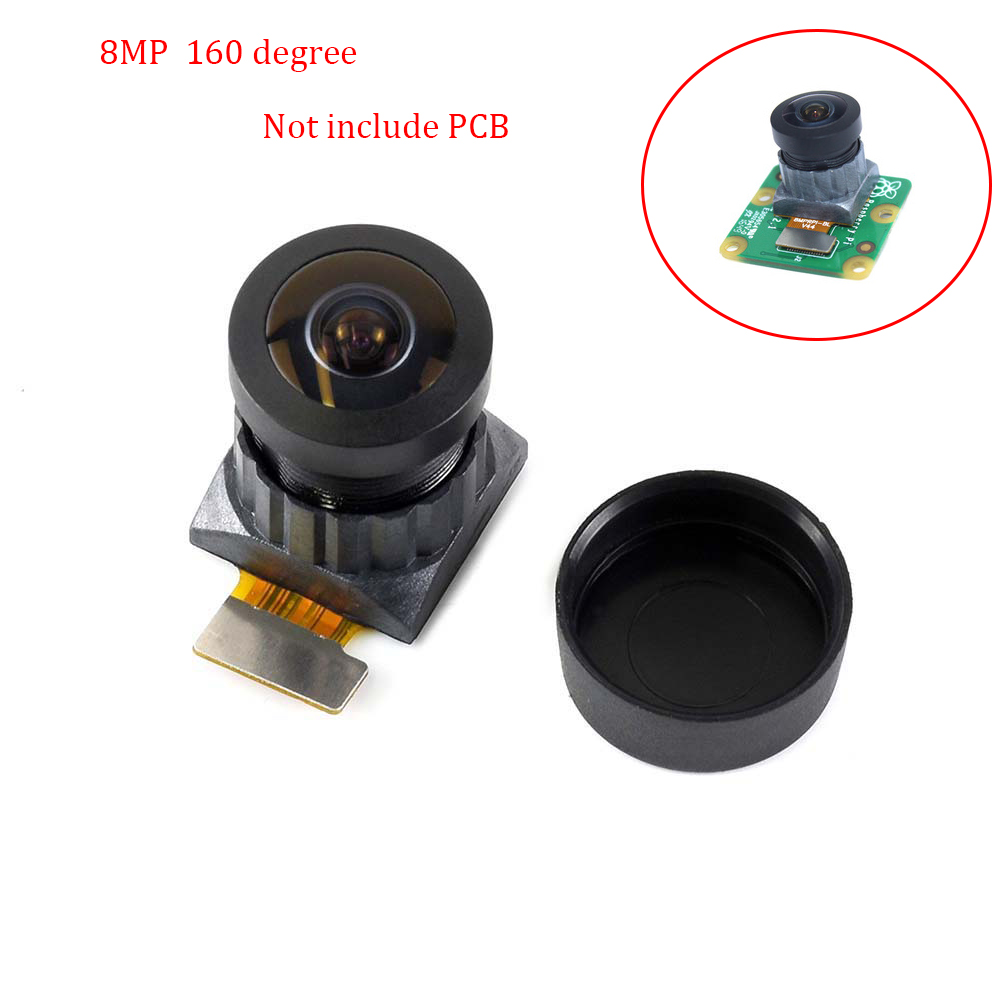 IMX219 Camera Module For Raspberry Pi Camera Board V2,160 Degree FoV. 3280*2464 Pixel,8-megapixel IMX219 Sensor,No PCB