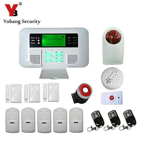 Awesome Yobang Security GSM PSTN Intelligent Home Security Alarm System,Wireless Wired  Alarm Gsm Alarmas House