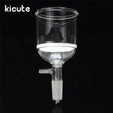 Kicute лучшее продвижение 350 мл фильтр воронка Бюхнера 24/40 совместное Бюхнера стекла воронка лаборатория посуда химии поставки