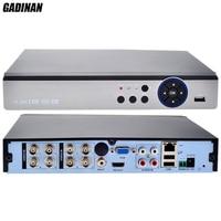 GADINAN 8CH 4MP AHD DVR Hybrid 4 AHD 4M 4 IP 4M Network 8 1080P 8