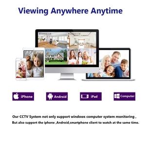 Image 5 - H.265 POE NVR 8CH IP كاميرا 16CH 5MP نظام 8 قطعة 48 فولت سوبر واضح 4MP الأمن قبة IP طقم كاميرا CCTV المراقبة بالفيديو NVR مجموعة
