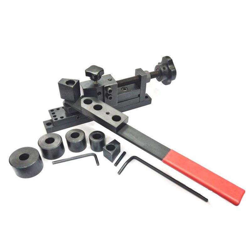 New Universal Bending Machine Mini Manual Bender Forms Wire, Flat Metal,Tubing Rebar Bending Machine Construction Tools