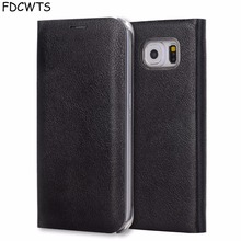 FDCWTS Flip Cover Leather Case For Samsung Galaxy S7 edge S7 Wallet Phone Case Cover With ID Credit Card Holder For Samsung S7