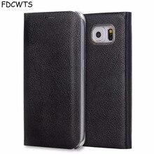 FDCWTS Flip כיסוי עור מקרה עבור Samsung Galaxy S7 קצה S7 ארנק טלפון מקרה כיסוי עם מזהה אשראי כרטיס בעל עבור Samsung S7