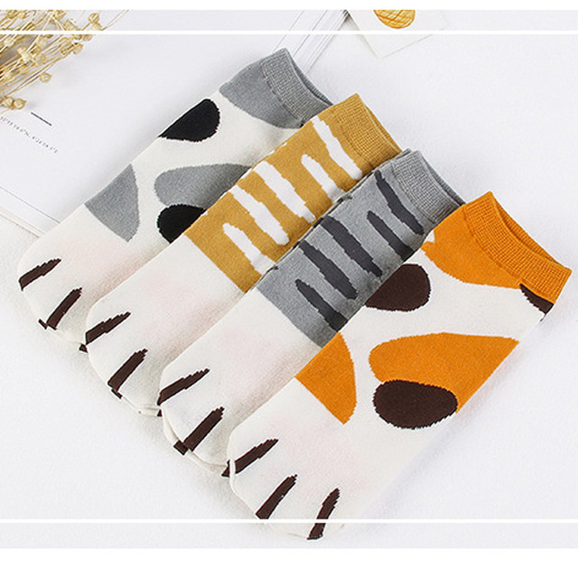 Kitty Cat Paws Socks 3