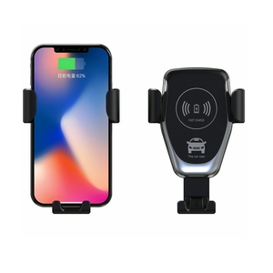 Image 5 - Sindvor Car Wireless Charger For iPhone XS Max X 8 10W Fast Wirless Charging Wireless Car Charger For Huawei Samsung S10 Xiaomi