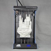 Дубликатор 5s-Extreme XV рок стали структура 3D принтер для продажи wanhao D5S 3D принтер с большой размер сборки: 295*195*590 мм