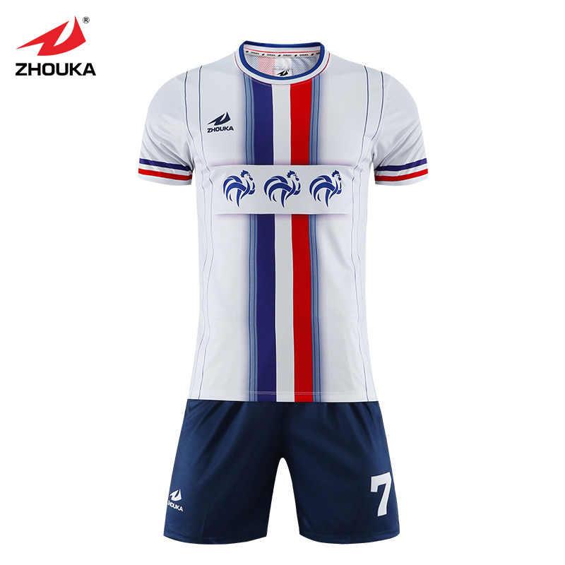 95c0b2c5e ... Wholesale Sublimation Printing Custom Futbol Club Team Uniform Football  Shirt Tops Suit Spain Jerseys Soccer Kit ...