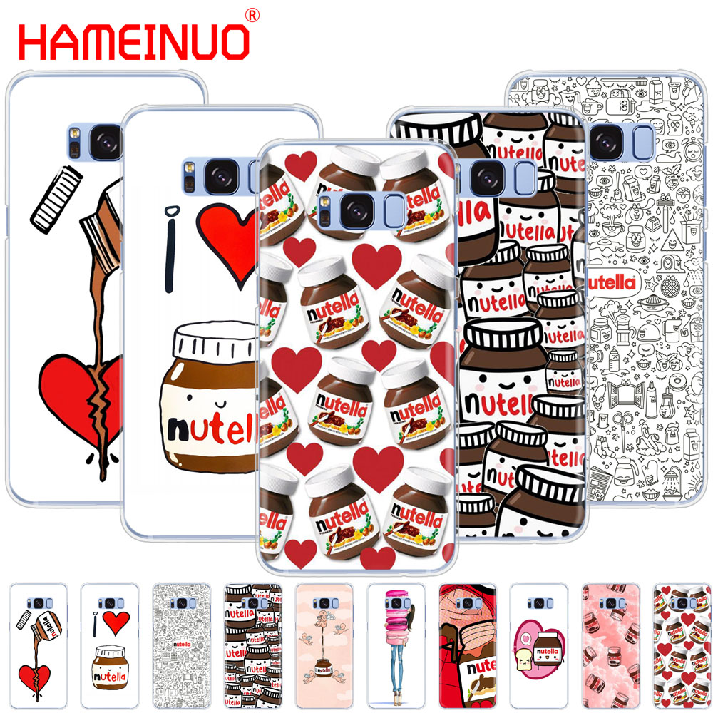 HAMEINUO chocolate Food Tumblr Nutella cell phone case cover for Samsung Galaxy S9 S7 edge PLUS S8 S6 S5 S4 S3 MINI Сотовый телефон