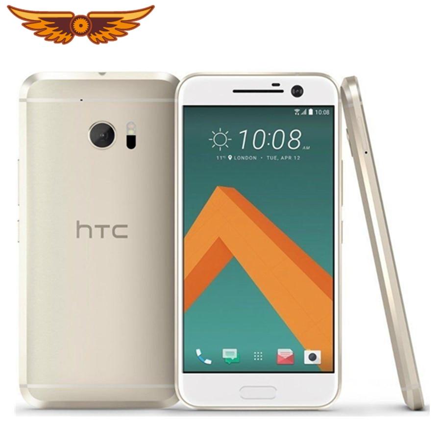 HTC 10 M10 4 ядра 5,2 дюймов 32 Гб Встроенная память 4 Гб Оперативная память 12.0MP LTE 4G Snapdragon 820 NFC FDD Nano SIM оригинальный UnlockedMobile чехол для телефона