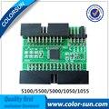 Novo cartão decodificador para impressoras hp designjet 1050/5100/5000/5500 chip decodificador