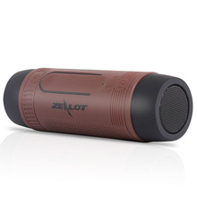 2016 Wireless Mini Bluetooth Speaker for bicycle with stereo sound, power bank, Flashlight lighting