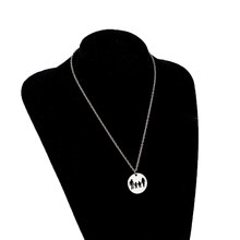 Family Theme Pendant Mom Dad Parents Daughter Son Gifts Alloy Necklace Long Chain Birthday Gifts(China)