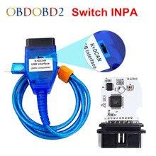Best для BMW INPA K + может Ediabas К DCAN Интерфейс для серии BMW с коммутатором FT232RL чип K DCAN Кабель USB Зеленый печатной платы