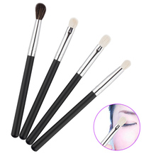 4pcs Eye Brushes Set Eyeshadow Foundation Blending Brush Makeup Brushes Cosmetic Tool Multifunction