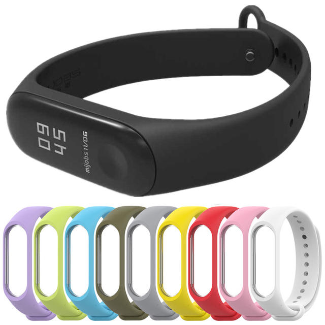 Bracelet Mijobs Mi Band 3 4 Strap Bracelet Silicone Wristband Miband 3 Strap Smart mi band3 Wrist for for Xiaomi Mi Band 3 Strap